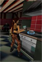 Lara Croft the Cook by Charlie-of-LHCblog