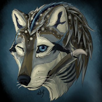 Headshot Icon by Anima-Wolfheart