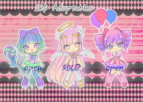 10$ Adoptables [Open] by KarameruYukika