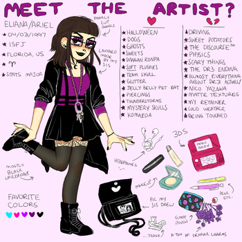 Meet the Artist by GhostlyStatic