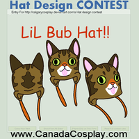 LiL Bub Hat: calgarycosplay:: Hat Design Contest:: by UneUne