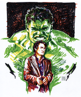 Bruce Banner by characterundefined