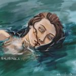 Drowning girl by kitty-izn
