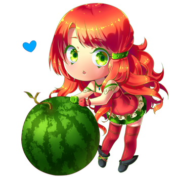 Summer Means Watermelon Right? by valiryn
