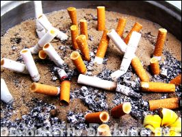 Me Against Smoking by DxButterfly
