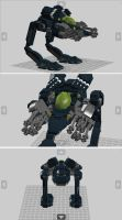 Lego Stalker by ProfessorNature
