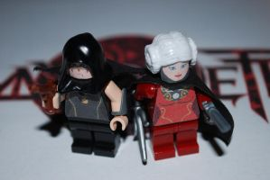 LEGO - Bayonetta Old  - Cereza and Jeanne by BatgirlXLoki