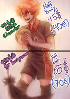 Hinata - Commission NEW PRICES (UPDATE) by DeerAzeen
