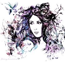 Sharon den Adel by jesterry