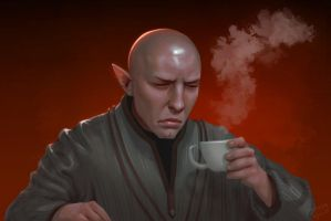 Something wrong with your tea... by ynorka