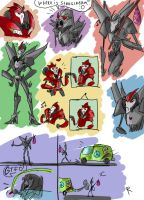TF Prime, doodles 2 by Ayej