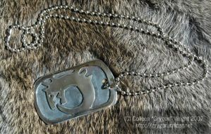 FMA ouroboros dog tag by grygon