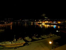Hersonissos by Night 1 by CKPhotos