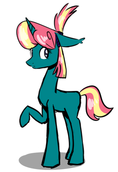 Random Pony adopt auction [CLOSED] by TheSilverPie