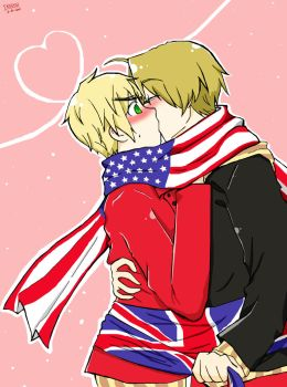 APH MY FIRST USUxUK by gakumi