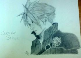 cloud strife by willowbythecreek