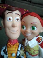 Woody and Jessie by MaskedAngel95