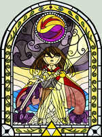 Kaede's Stained Glass Window by WildShadowWarrior