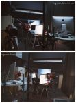 .behind the scenes: Kat Von D Lighting. by Kay-Noire