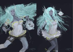 Before and after by zareah