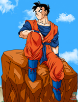 Son Gohan Future Poster by lucario-strike