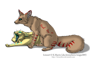 Foxes i adopted by Neko-longtail