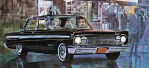 After the age of chrome and fins : 1964 Mercury by Peterhoff3