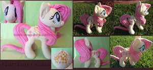 Fluttershy Plush by Noxx-ious