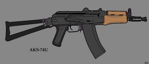 AKS-74U by Exciter01