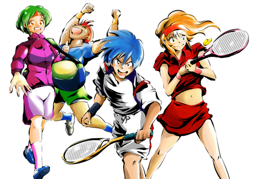 Let's play Tennis!! by doraemonRK