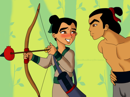 Disney Week- Mulan by xBooxBooxBear