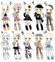Outfit Adopt 53 Offer to Adopt by Canaddicted
