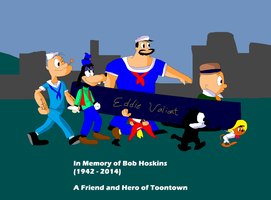 Toon Friends Carrying Bob Hoskins by TXToonGuy1037