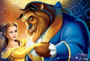 Emma Watson in Beauty and the Beast by Yala100