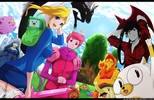 Genderbent Adventure Time! by Suihara