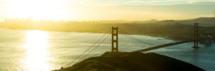 Golden Gate Bridge from Slacker Hill by thevictor2225