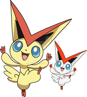 494 - Victini - art v.2 by Tails19950