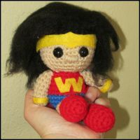 Wonder Girl by oywiththeplushies
