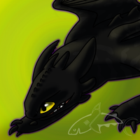Playful Toothless by CavySpirit