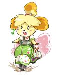 Go Isabelle! by LazyTurtle