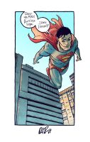 Superman for a super guy by dio-03