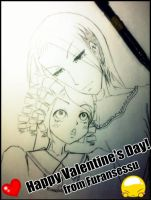 Happy Valentine's Day~! by Furansessu