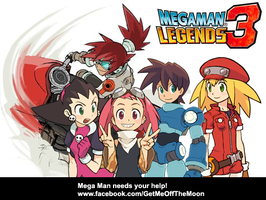 Mega Man Legends 3 Support by Hypershell
