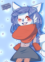 MERRY MEOWSTIC XOXO by stantlers