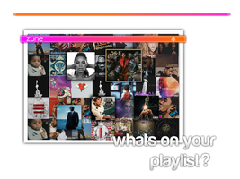 zune playlist ad by bmgreatness