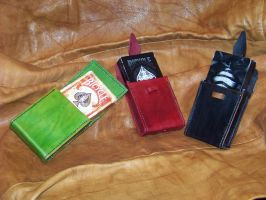 leather card cases 4, 5 and 6 by MerrillsLeather