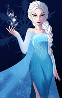FROZEN Elsa by DreamAngel-Ren
