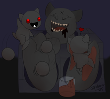 Daily Doodles #008 - The Binding of... Big Horn? by JBWarrior