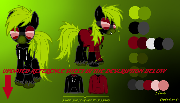 Lime Overtime Reference Sheet yo! by LimeOvertime