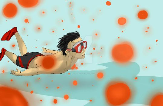 swimming by fahrizal182